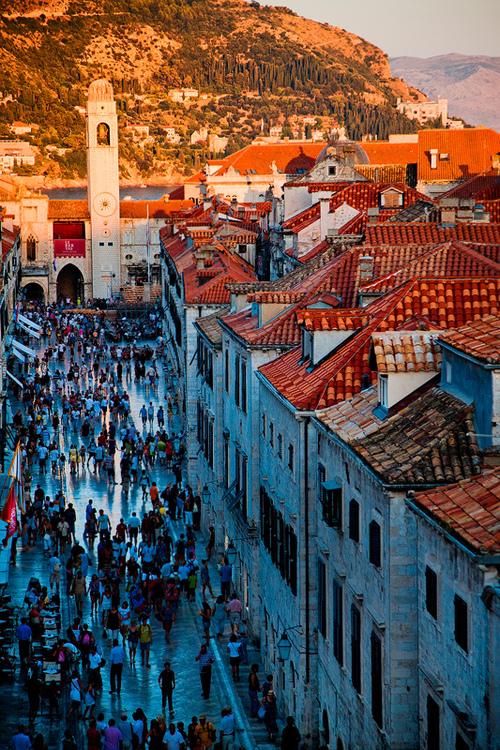 Croatia - Dubrovnik - The Main Street
